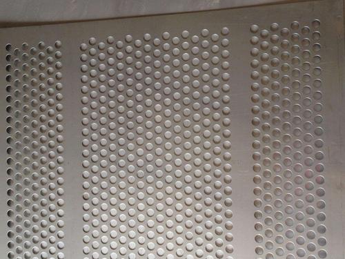 304不锈钢冲孔板案例